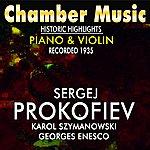 Yehudi Menuhin Chamber Music Historic Highlights Piano & Violin (Recorded 1936)