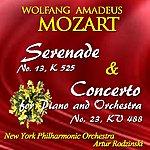 New York Philharmonic Mozart: Serenade No. 13, Kv 525 & Concerto For Piano And Orchestra No. 23, Kv 488