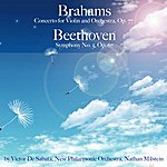New Philharmonic Orchestra Brahms: Concerto For Violin And Orchestra, Op. 77 & Beethoven: Symphony No. 5, Op. 67