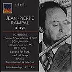 Jean-Pierre Rampal Jean-Pierre Rampal Plays Schubert, Schumann & Debussy (Studio Recordings 1951, 1955 & 1958)