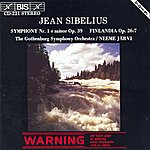 Neeme Järvi Sibelius: Symphony No. 1 In E Minor, Op. 39 & Finlandia, Op. 26