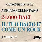 Adriano Celentano Canzonissima 1962: 24.000 Baci / Il Tuo Bacio É Come Un Rock