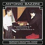 Bruno Canino Bazzini:6 Morceaux Lyriques, Op. 35 - 3 Morceaux Caractéristiques, Op. 45 - 3 Morceaux, Op. 46