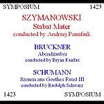 Andrzej Panufnik Szymanowski, Bruckner & Schumann: A Choral Anthology