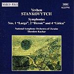 Theodore Kuchar Stankovytch: Symphonies Nos. 1, 2 & 4