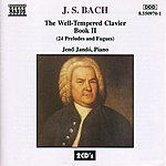 Jenő Jandó Bach, J.S.: Well-Tempered Clavier (The), Book 2