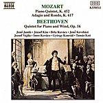 Jenő Jandó Mozart: Piano Quintet In E-Flat Major / Beethoven: Piano Quintet In E-Flat Major