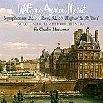"Scottish Chamber Orchestra Mozart: Symphonies Nos. 29, 31, ""Paris"", 32, 35, ""Haffner"", 36, ""Linz"""