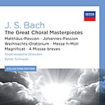 Rundfunkchor Leipzig J.S. Bach: The Great Choral Masterpieces