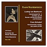 Lili Kraus Piano Masterworks: Lili Kraus Ludwig Van Beethoven: Piano Concerto Nr. 4 In G Major, Op. 58 Franz Schubert: Piano Sonata In A-Major (Op.Posth.) (D.959) (Recordings 1959)