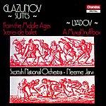 Neeme Järvi Glazunov: From The Middle Ages & Scenes De Ballet - Lyadov: A Musical Snuffbox