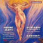 Neeme Järvi Scriabin: Symphony No. 3 - Arensky: Silhouettes