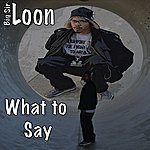 Big Sir Loon What To Say? - Single