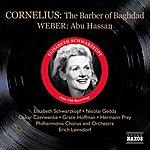 Elisabeth Schwarzkopf Cornelius, P.: Barber Of Bagdad (The) (Schwarzkopf, Gedda, Leinsdorf) (1956) / Weber, C.M.: Abu Hassan (Schwarzkopf, Witte, Ludwig) (1944)
