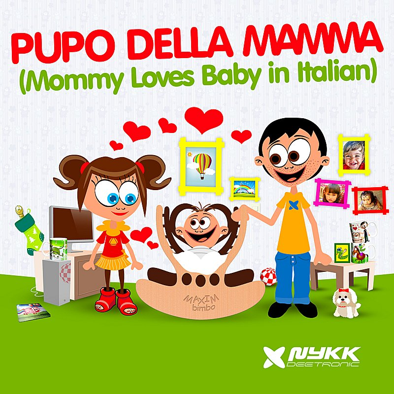 Cover Art: Pupo Della Mamma (Mommy Loves Baby In Italian)