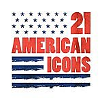 Cover Art: 21 American Icons