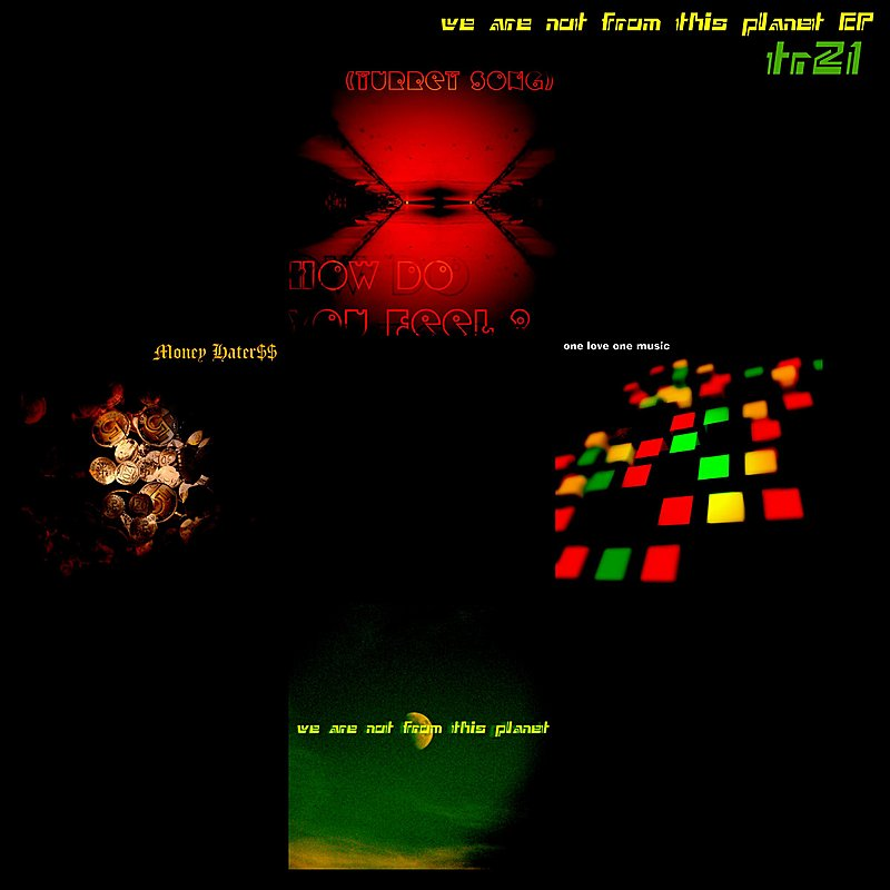 Cover Art: We Are Not From This Planet