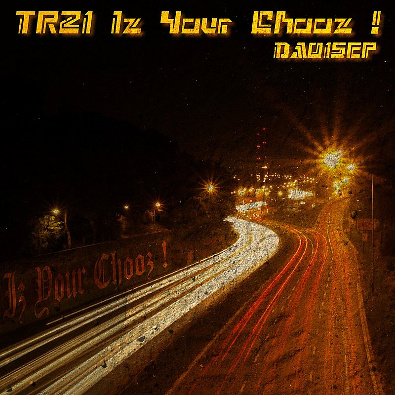 Cover Art: Iz Your Chooz !