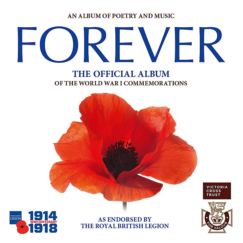 Cover Art: Forever: The Official Album Of The World War 1 Commemorations