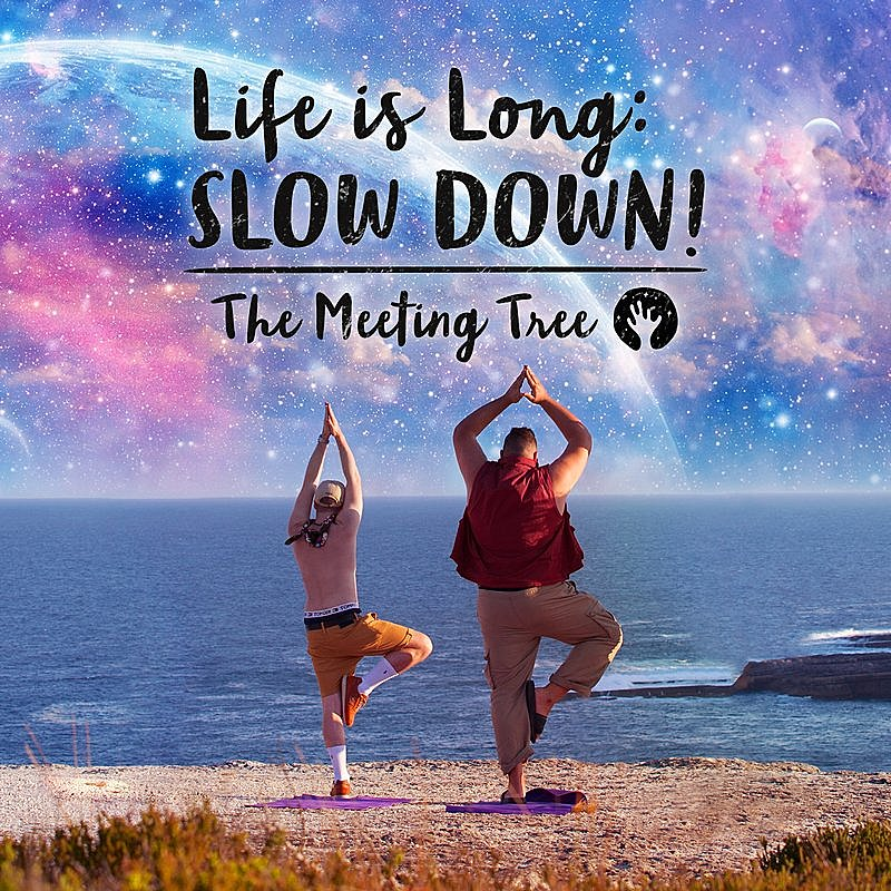 Cover Art: Life Is Long: Slow Down!