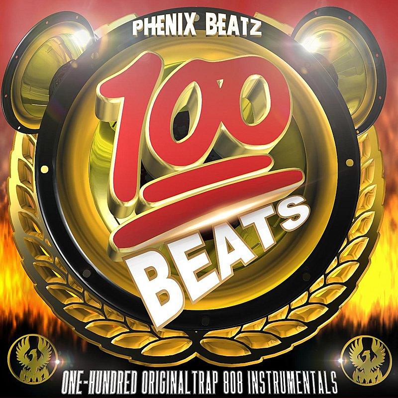 Cover Art: 100 Trap Beats And Instrumentals