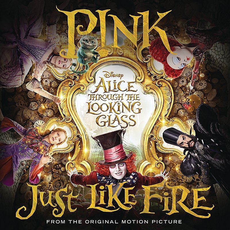 Cover Art: Just Like Fire (From The Original Motion Picture