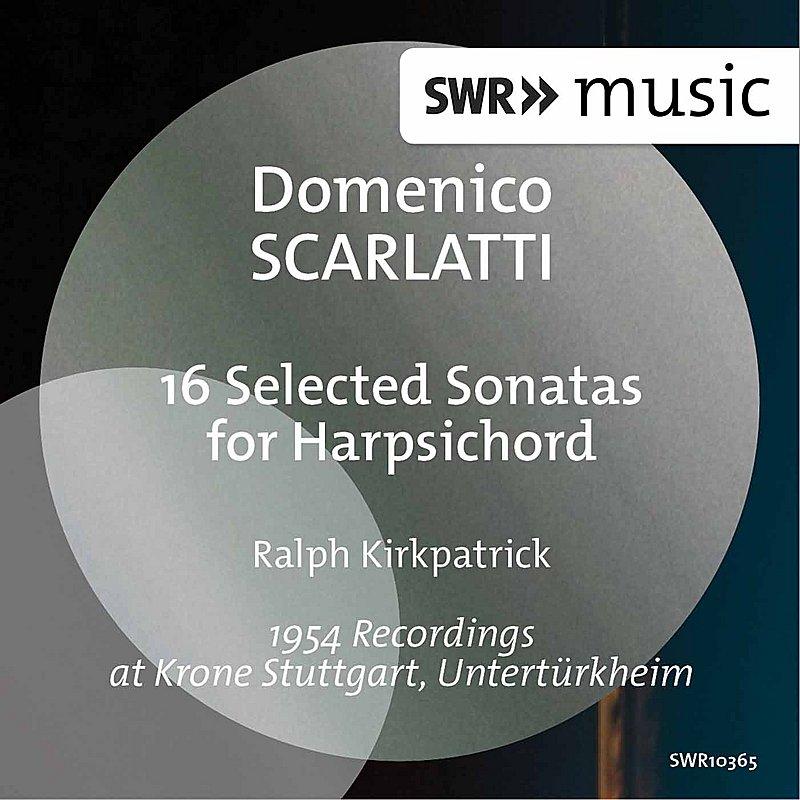 Cover Art: D. Scarlatti: 16 Selected Sonatas For Harpsichord