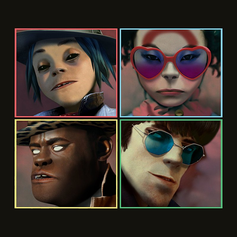 Cover Art: Humanz (Deluxe)