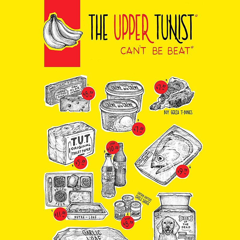 Cover Art: The Upper Tunist