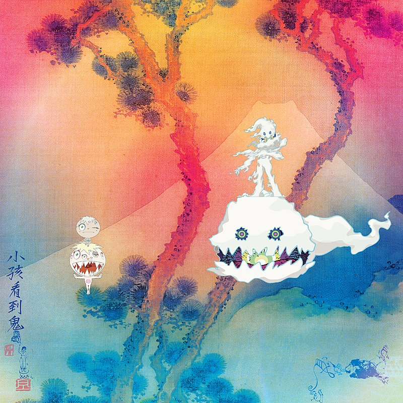 Cover Art: Kids See Ghosts