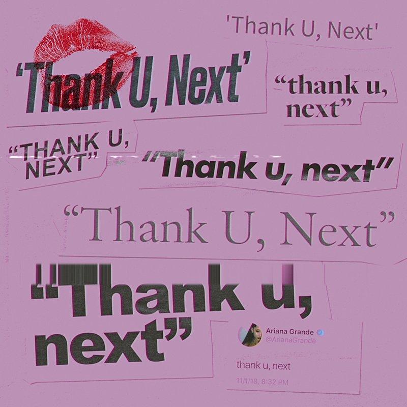 Cover Art: Thank U, Next