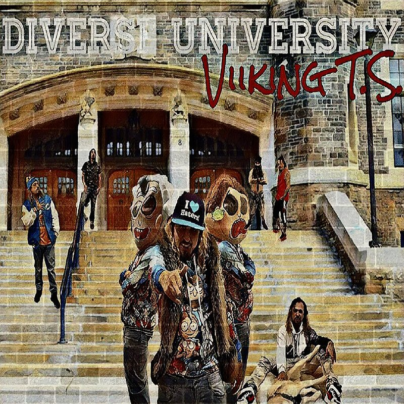Cover Art: Diverse University Viiking T.S.