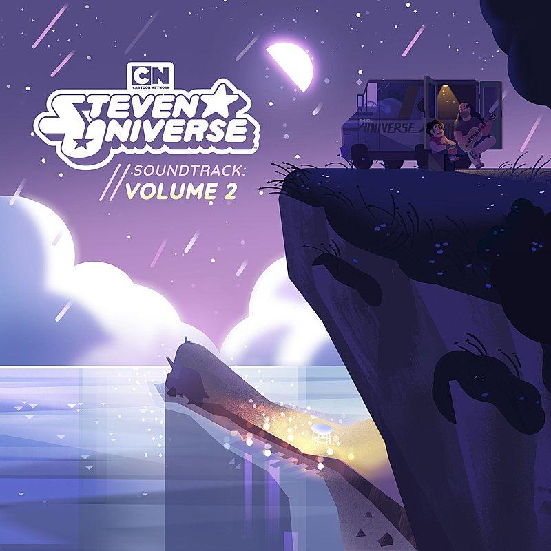 Cover Art: Steven Universe, Vol. 2 (Original Soundtrack)