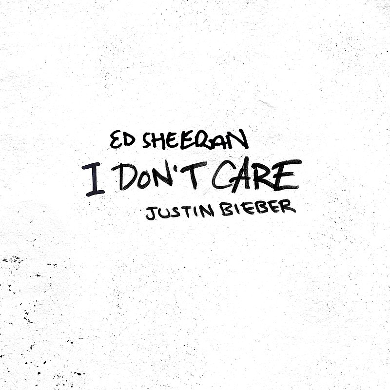 Cover Art: I Don't Care
