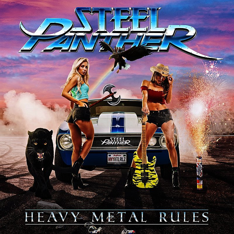 Cover Art: Heavy Metal Rules