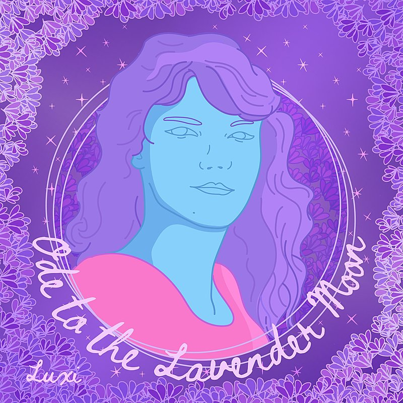 Cover Art: Ode To The Lavender Moon