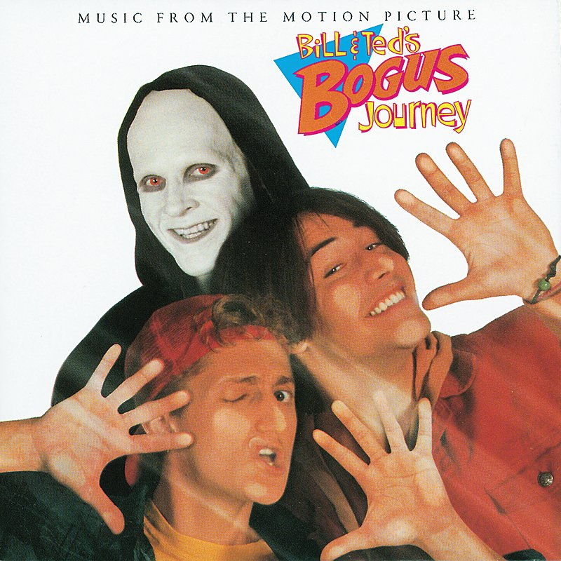 Cover Art: Bill & Ted's Bogus Journey (Music From The Motion Picture)